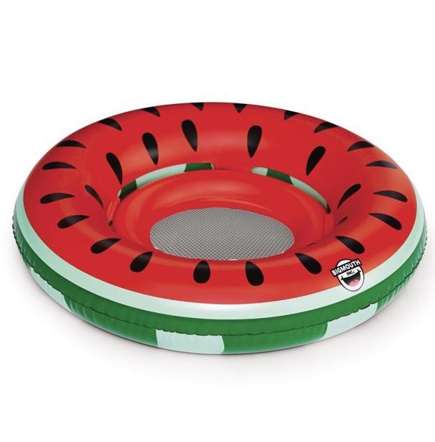 Круг надувной детский BigMouth Watermelon