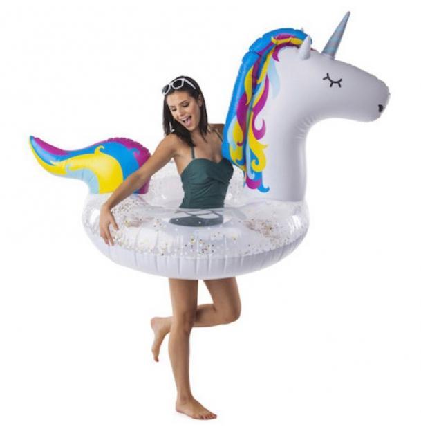 Круг надувной BigMouth Unicorn Glitter