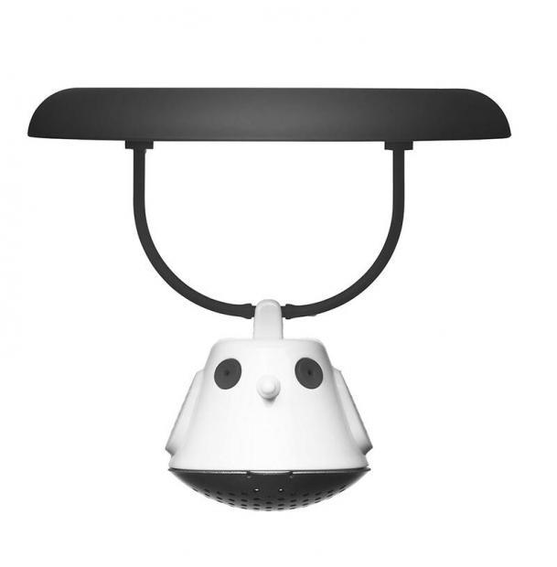 Емкость для заваривания чая с крышкой Qdo Birdie Swing чёрная 567432