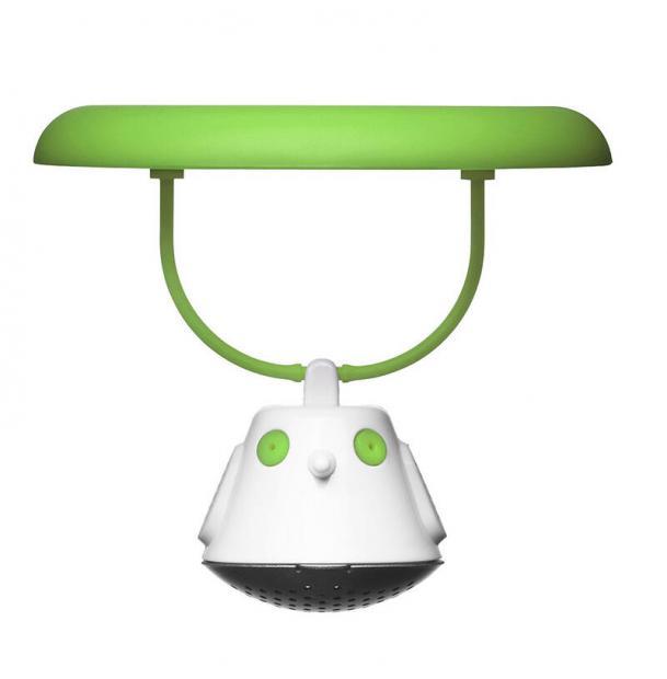 Емкость для заваривания чая с крышкой Qdo Birdie Swing зелёная 567393
