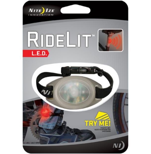 Велосипедный фонарь Nite Ize RideLit Red