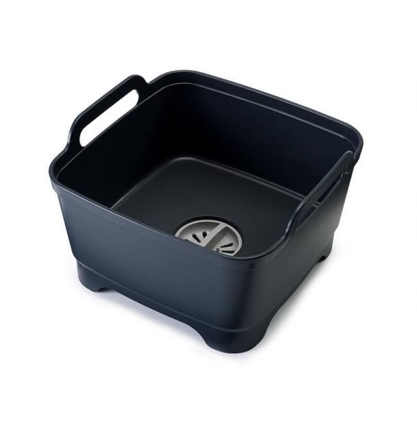 Контейнер для мытья посуды Joseph Joseph Wash&Drain Grey