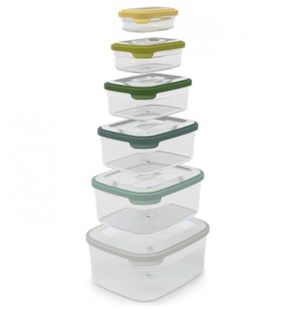 Набор контейнеров для хранения продуктов Joseph Joseph Nest 6 Opal