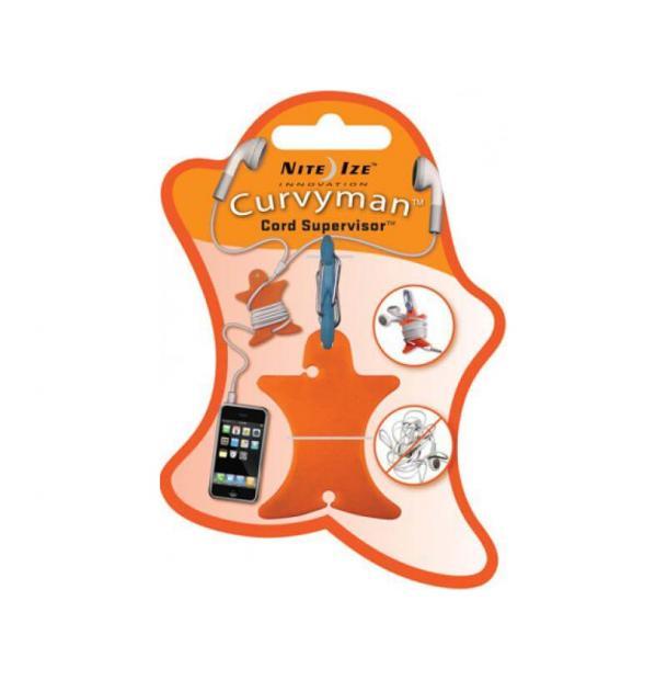 Катушка для провода Nite Ize Curvyman Cord Supervisor Orange