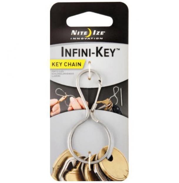Кольцо для ключей Nite Ize Infini-Key Key Chain Stainless