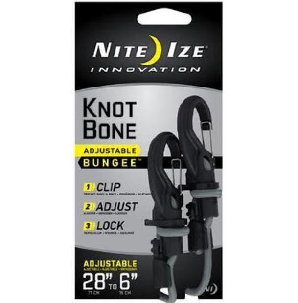 Крепление с карабином и веревкой Nite Ize Knotbone Adjustable Bungee #5