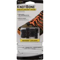 Шнурки с фиксатором Nite Ize KnotBone Stretch LaceLock System White