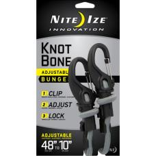 Крепление с карабином и веревкой Nite Ize Knotbone Adjustable Bungee #9