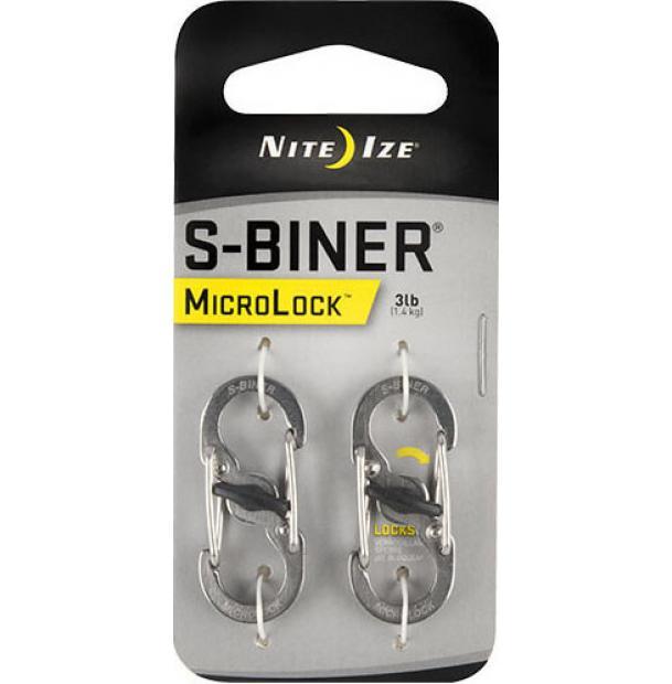 Набор карабинов Nite Ize S-Biner MicroLock Stainless