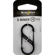 Карабин Nite Ize S-Biner #2 Black