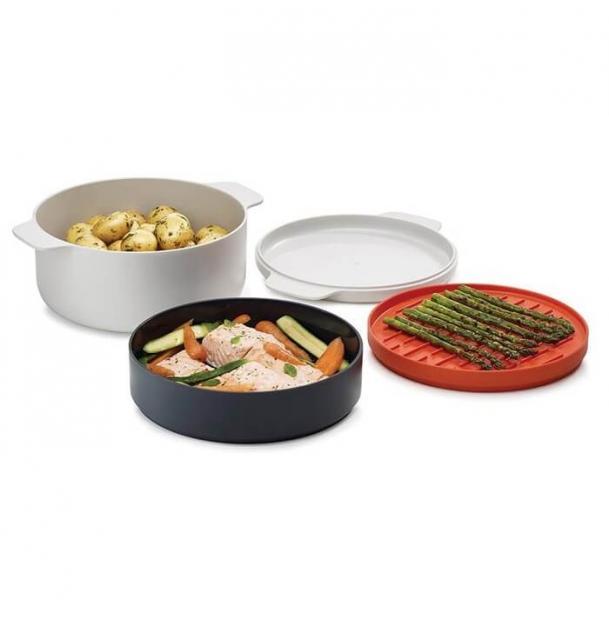 Пароварочный набор для микроволновой печи Joseph Joseph M-Cuisine Coocking Set