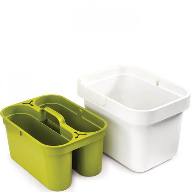 Ведро со съемным контейнером Joseph Joseph Clean&Store Green