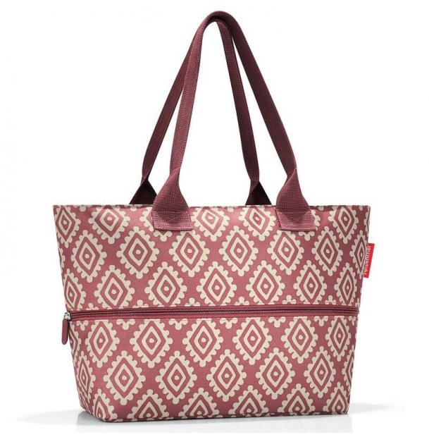 Сумка Reisenthel Shopper E1 diamonds rouge