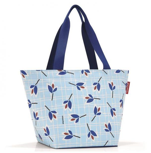 Сумка Reisenthel Shopper M leaves blue