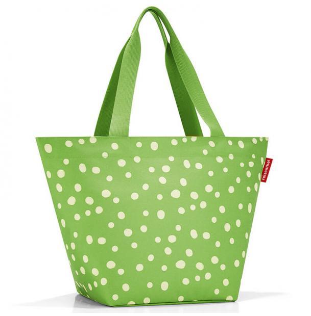 Сумка Reisenthel Shopper M spots green