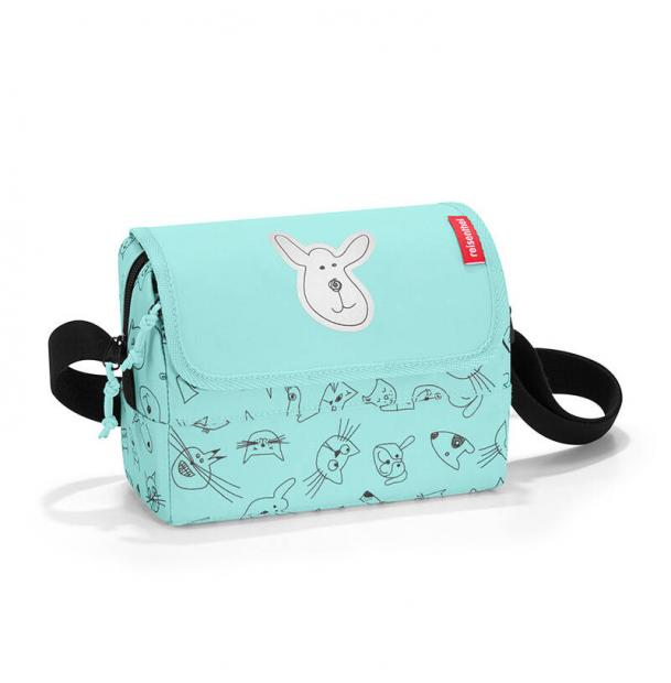 Сумка детская Reisenthel Everydaybag kids cats and dogs mint