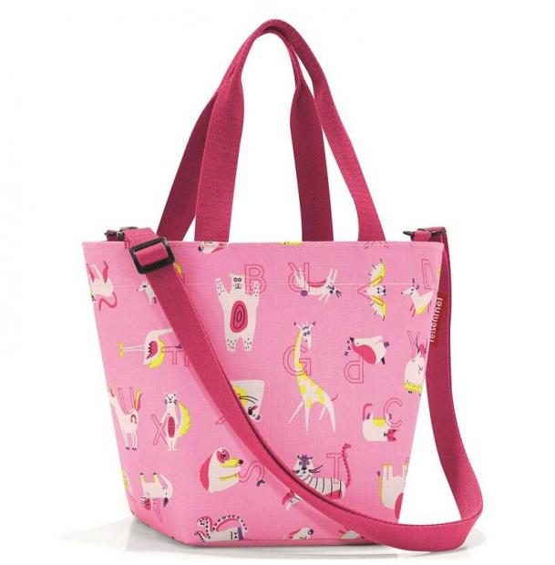 Сумка детская Reisenthel Shopper XS ABC friends pink