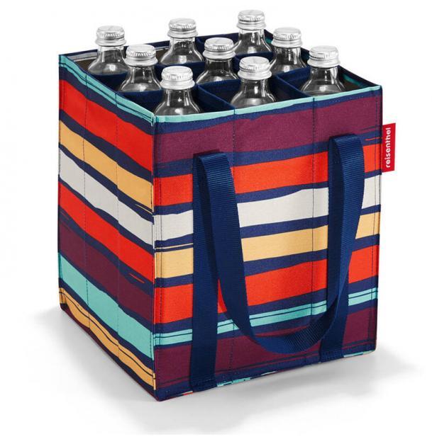 Сумка-органайзер для бутылок Reisenthel Bottlebag artist stripes