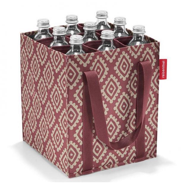 Сумка-органайзер для бутылок Reisenthel Bottlebag diamonds rouge