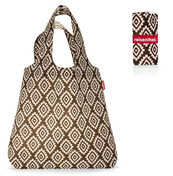 Сумка складная Reisenthel Mini Maxi shopper diamonds mocha