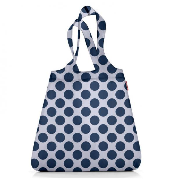 Сумка складная Reisenthel Mini Maxi shopper navy dots