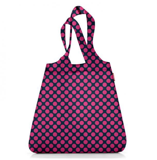 Сумка складная Reisenthel Mini Maxi shopper purple dots