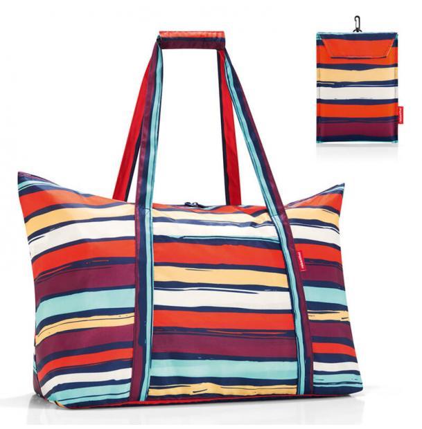 Сумка складная Reisenthel Mini Maxi travelbag artist stripes