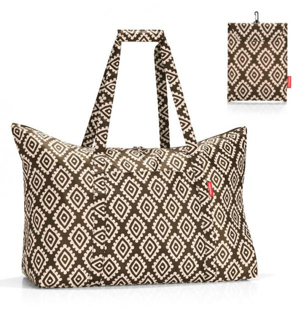 Сумка складная Reisenthel Mini Maxi travelbag diamonds mocha