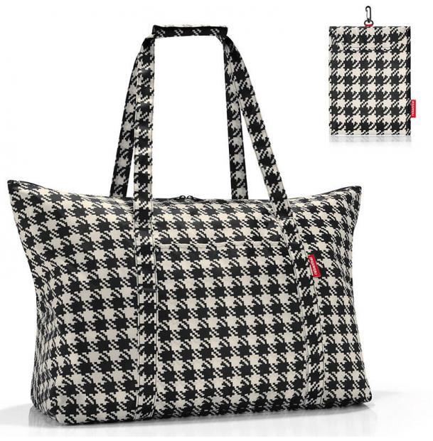 Сумка складная Reisenthel Mini Maxi travelbag fifties black