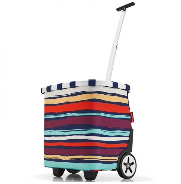 Сумка-тележка Reisenthel Carrycruiser artist stripes