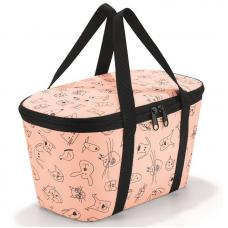 Термосумка детская Reisenthel Coolerbag XS cats and dogs rose