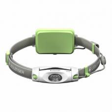 Аккумуляторный налобный фонарь LED LENSER NEO 6R зеленый