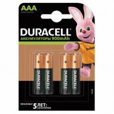 Аккумуляторы Duracell R03 AAA BL4 NI-MH 900mAh