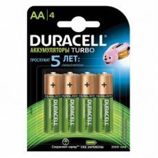 Аккумуляторы Duracell R6 AA BL4 NI-MH 2500mAh