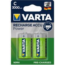 Аккумуляторы VARTA Rechargable Accu HR14/C 3000mAh 2 шт