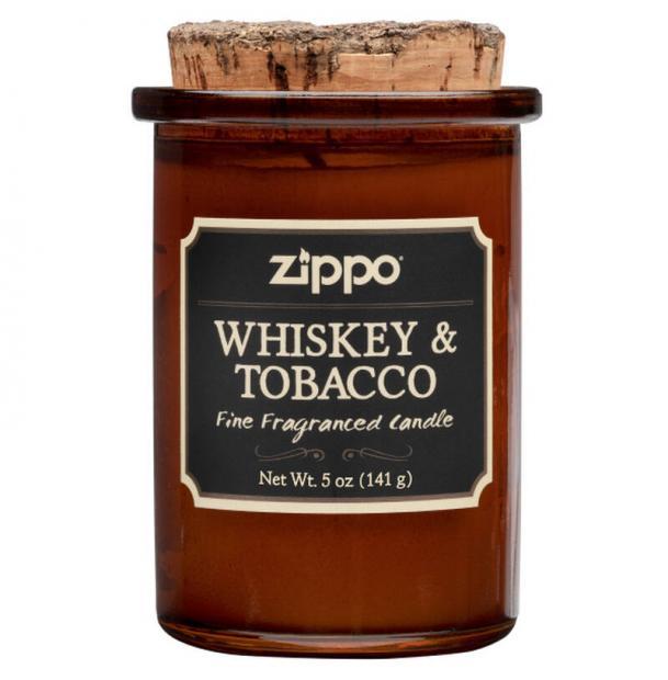 Ароматизированная свеча ZIPPO Whiskey & Tobacco 70015