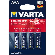 Батареи Varta Longlife Max Power AAA 4 шт.