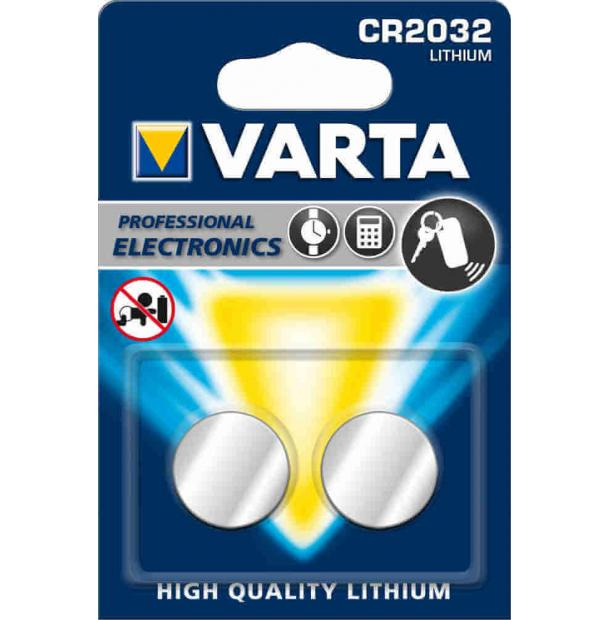 Батарейка литиевая VARTA Professional Electronics CR2032 2 шт