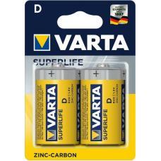 Батарея Varta Superlife D 2 шт.