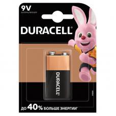 Батарейка Duracell Basic Крона 6LR61 BL1 Alkaline 9V CN