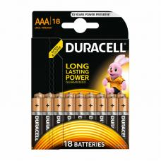 Батарейка Duracell Basic LR03 AAA BL18 Alkaline 1.5V BE 107557