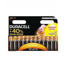 Батарейка Duracell Basic LR6 AA BL12 Alkaline 1.5V BE 006546