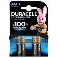 Батарейка Duracell ULTRA POWER LR03 AAA BL4 Alkaline 1.5V BE 062931