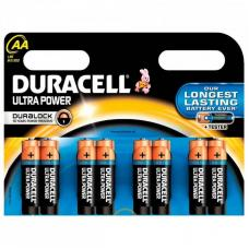 Батарейка Duracell ULTRA POWER LR6 AA BL8 Alkaline 1.5V BE 063051