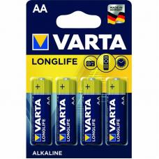 Батарейка Varta Longlife AA (4 шт. в блистере)