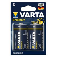 Батарейка Varta ENERGY LR14 C BL2 Alkaline 1.5V (4114) 04114-2