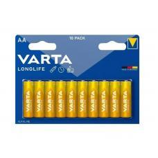 Батарейка Varta LONGLIFE LR6 AA BL10 Alkaline 1.5V (4106) 04106101461