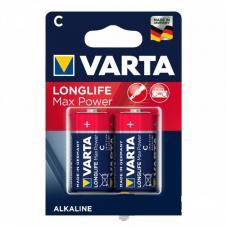 Батарейка Varta LONGLIFE MAX POWER LR14 C BL2 Alkaline 1.5V 04714-2