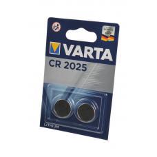 Батарейка Varta Professional Electronics CR2025 2 шт