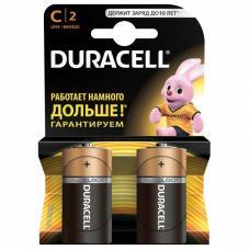 Батарейки Duracell Basic LR14 C BL2 Alkaline 1.5V US